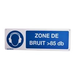 Pictogramme Zone de Bruit 85 db