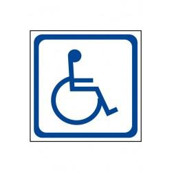 Etiquette Transport d'handicapés (en miroir)