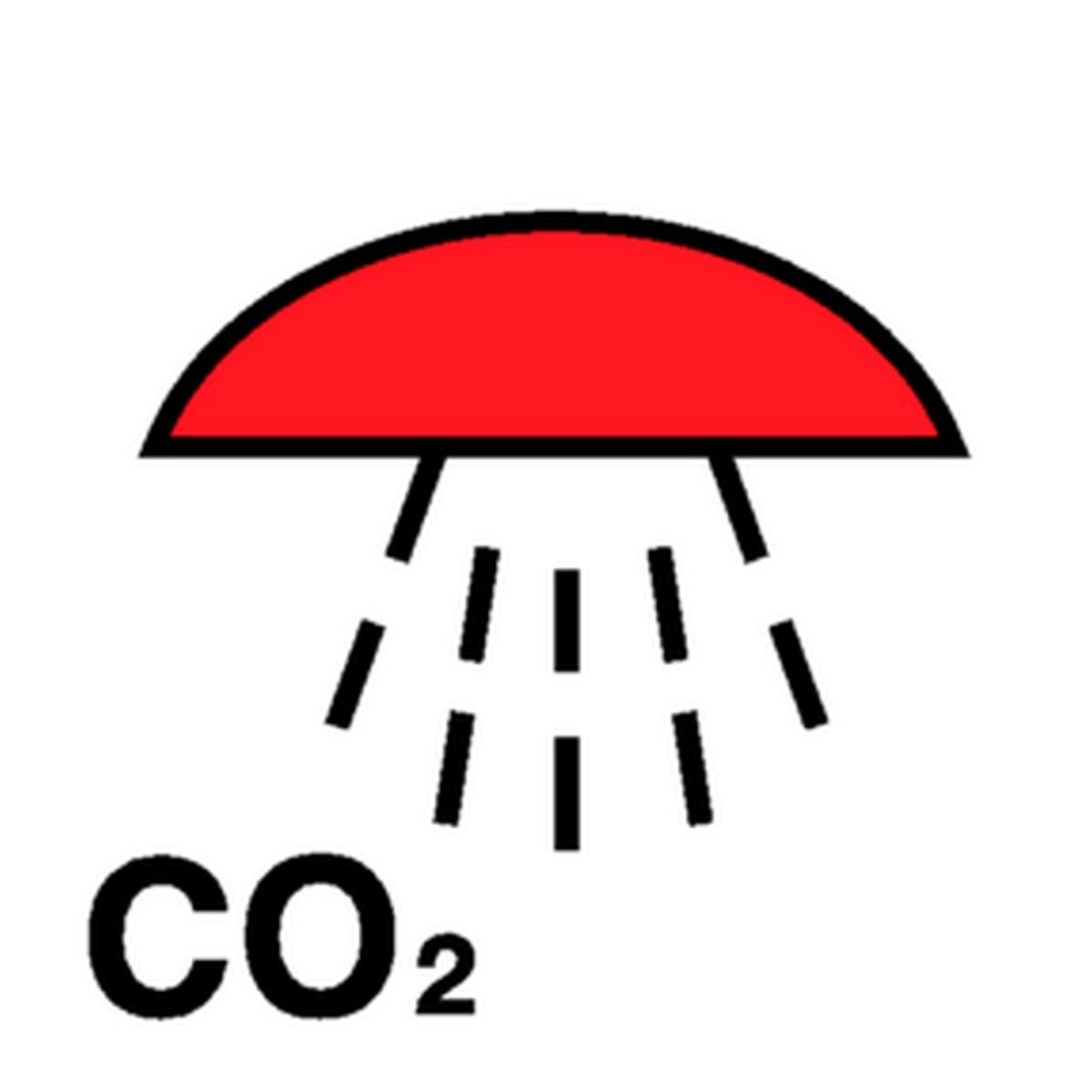 Panneau Espace protégé par CO2