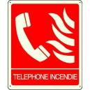 Téléphone Incendie Photoluminescent