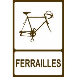 Panneau Ferrailles