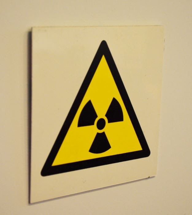 Matières radioactives Picto