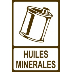 Panneau Huiles minérales