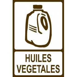 Panneau Huiles végétales
