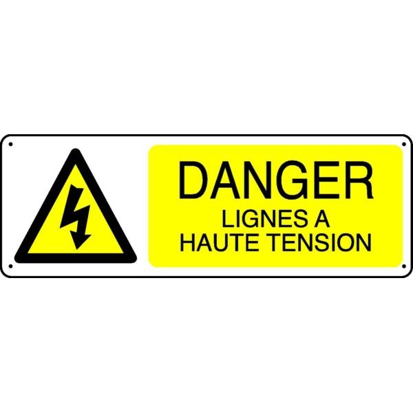 Panneau Danger Lignes 224 Haute Tension Stocksignes