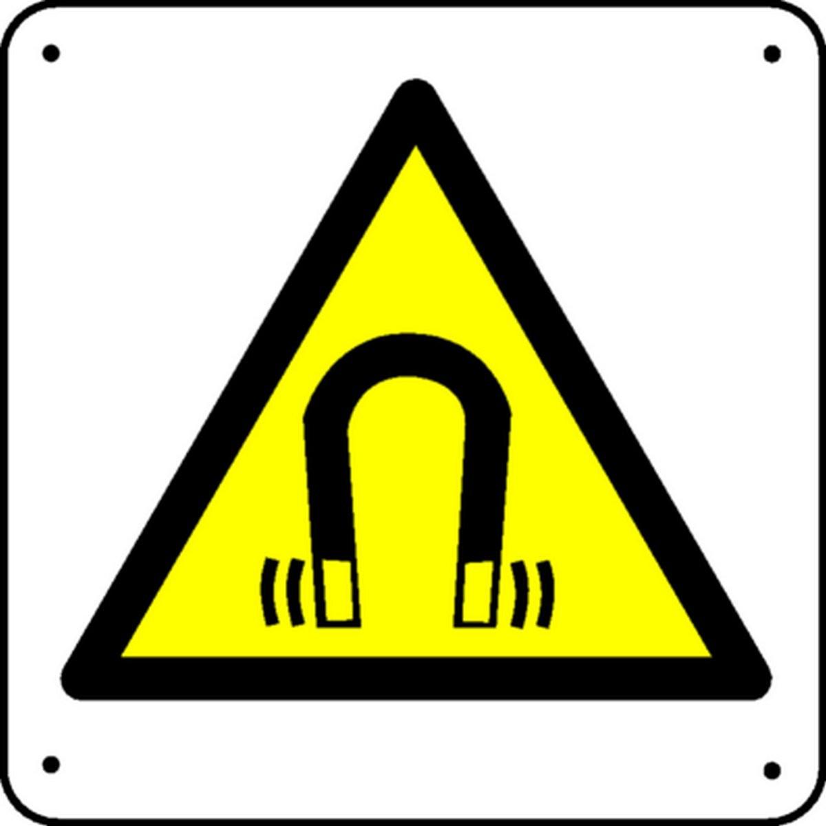 Panneau Danger magnétique Picto
