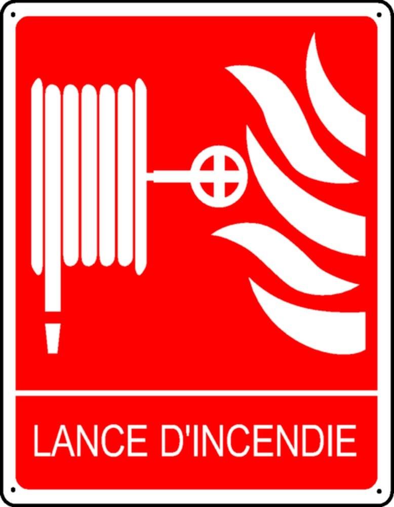 Panneau Lance d'Incendie