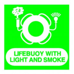 Panneau Life Buoy with Light and Smoke