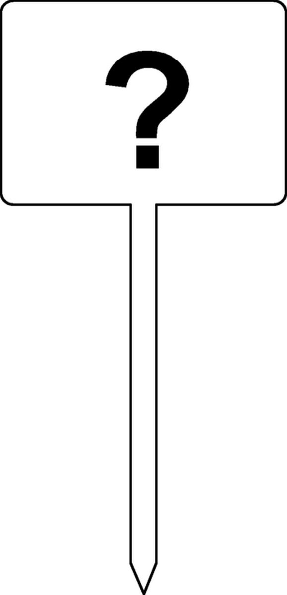 Panneau Panneau ( à complèter) + piquet