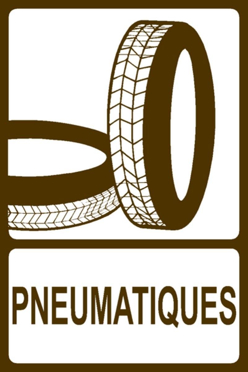 Panneau Pneumatiques