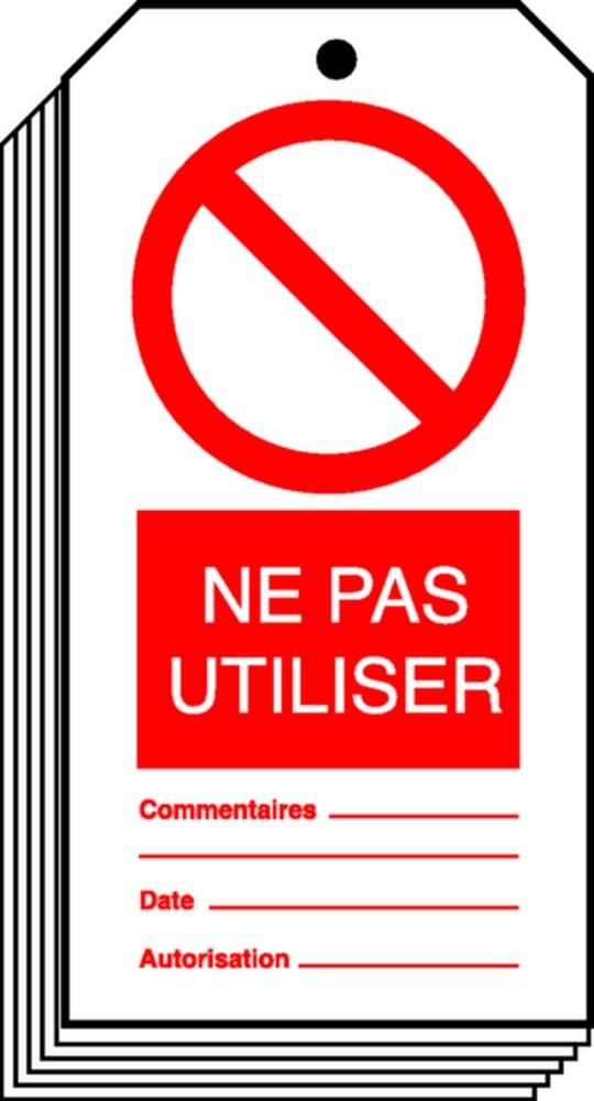 Affiche Ne Pas Utiliser