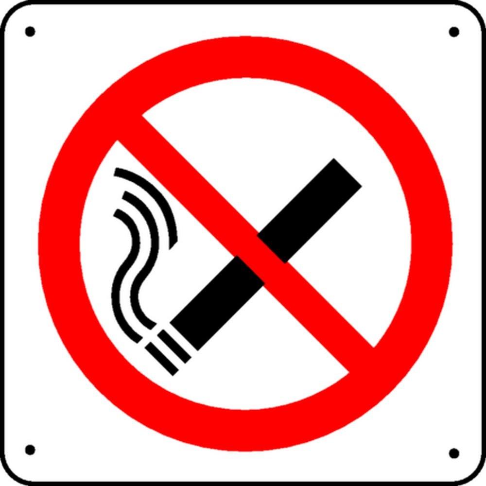 Panneau Défense de Fumer Picto