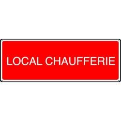 Panneau Local Chaufferie