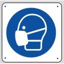 Panneau pictogramme Masque de protection
