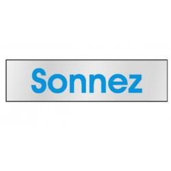 Plaque Sonnez