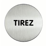 Panneau Tirez