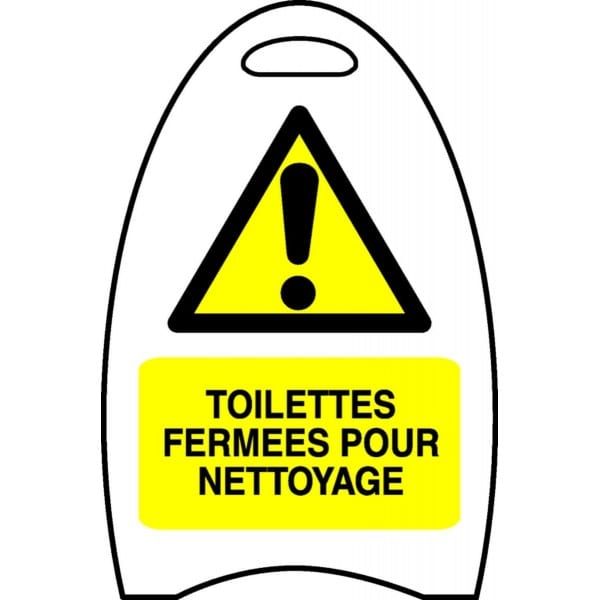 Chevalet Toilettes Ferm 233 Es Pour Nettoyage Stocksignes