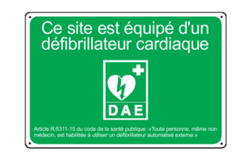 Panneau Défibrillateur Cardiaque