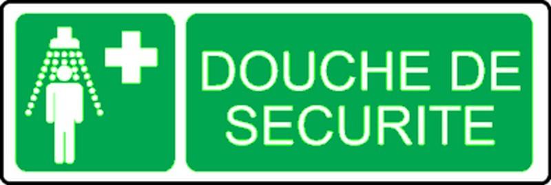 Pictogramme Douche de Sécurité