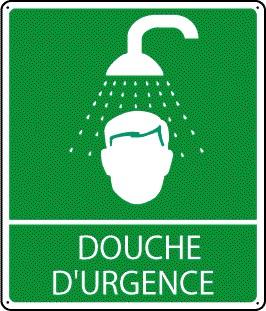 Pictogramme Douche d'Urgence