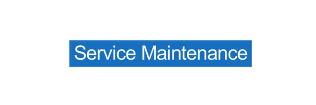 Panneau Service Maintenance