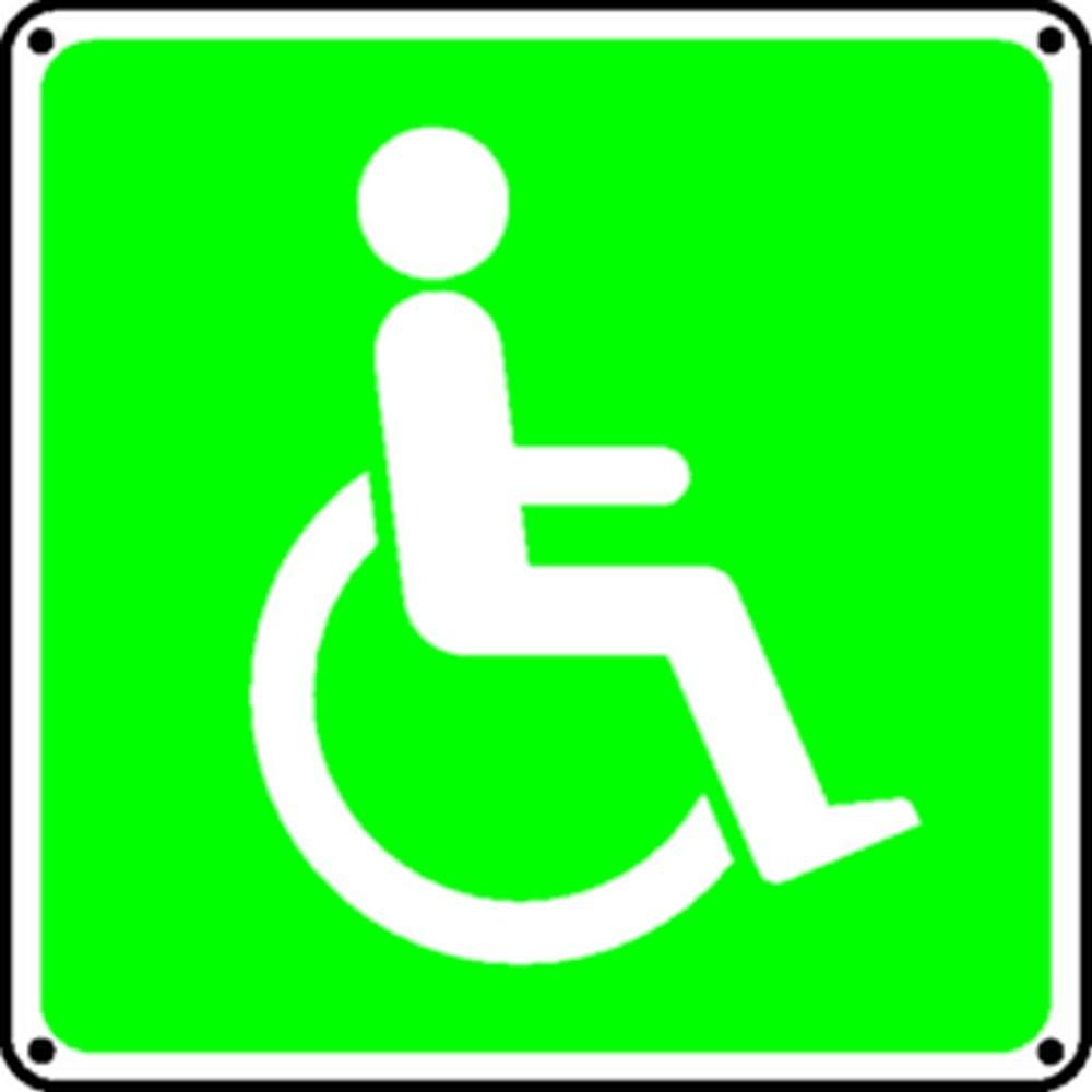 Panneau Secours Handicapés