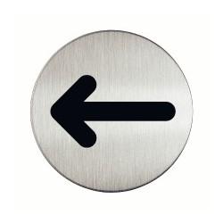 Plaque Flèche (Inox)