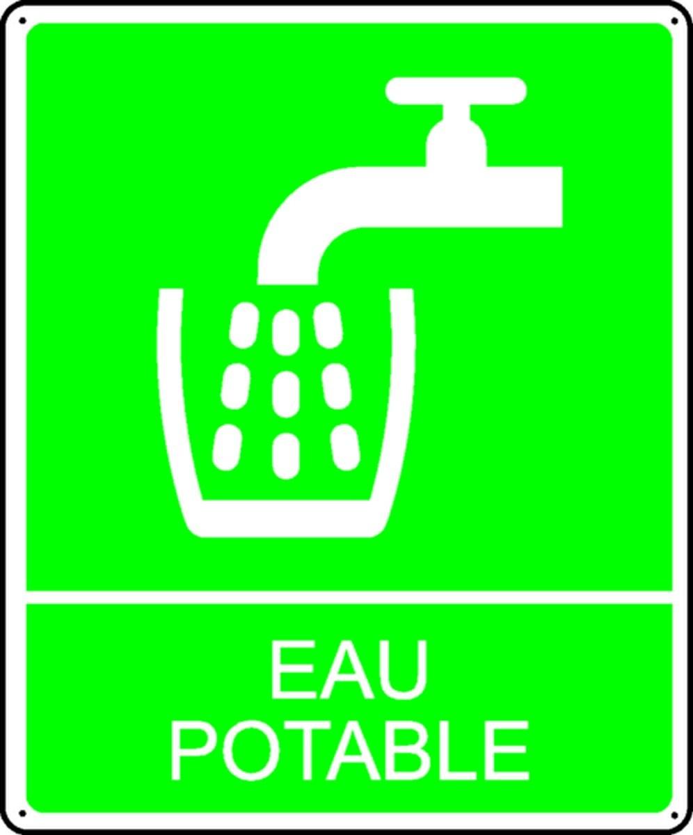 Panneau Eau Potable