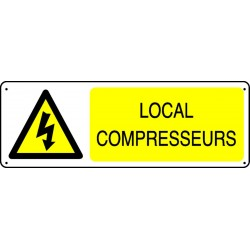 Panneau Local compresseurs