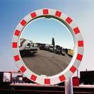 Miroir Industrie Ø600 mm + Bandes