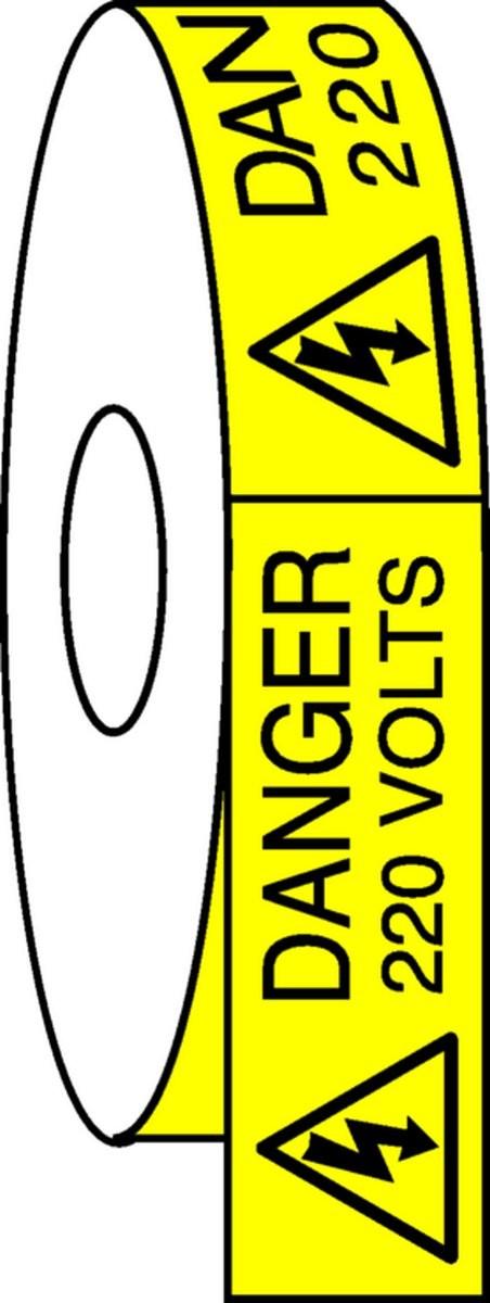 Pictogramme Danger 220 Volts Etiquettes