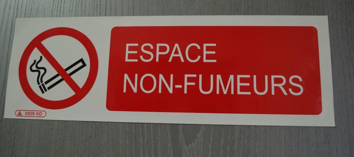 Panneau Espace Non-Fumeurs