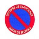 Défense de Stationner Sortie de Secours