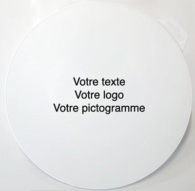 Panneau Disque PVC Vierge