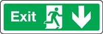 Pictogramme Exit (flèche bas)