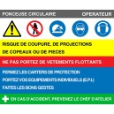 Consigne Ponceuse Circulaire