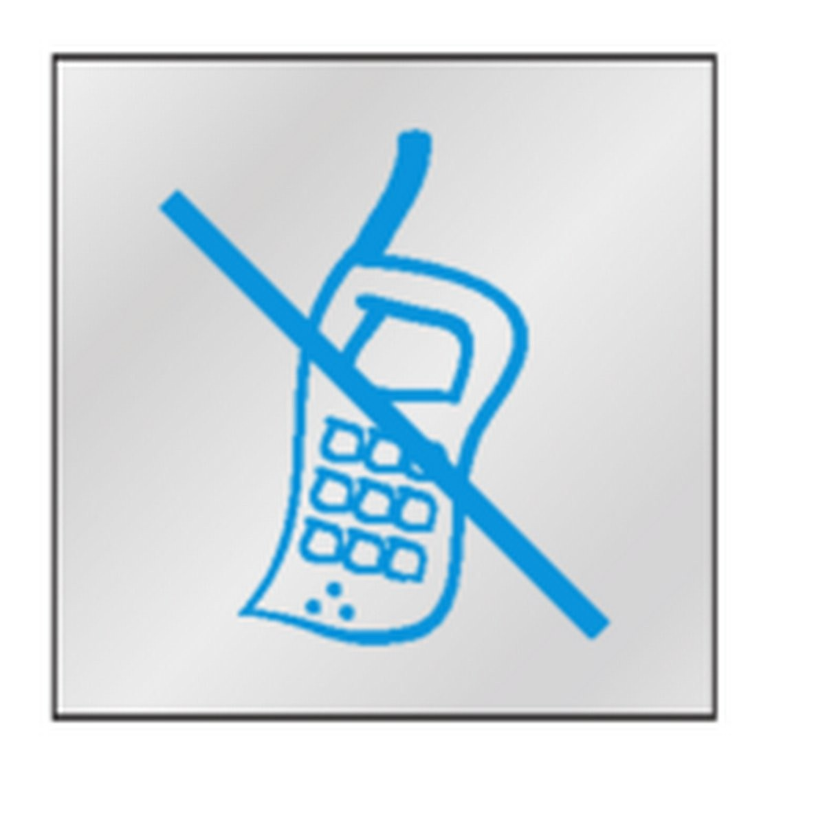 Panneau Portable interdit Picto