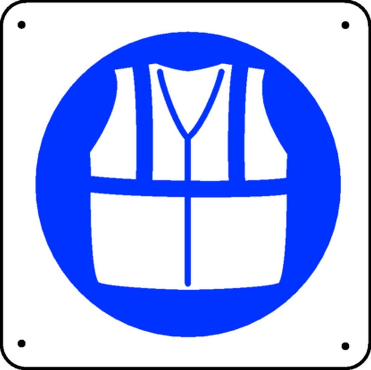 Panneau Gilet de sécurité Picto