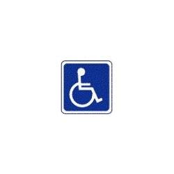 Panneau Handicapé Picto