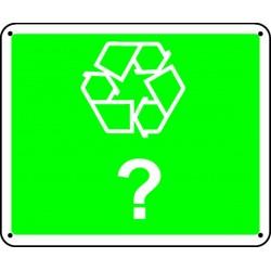 Panneau Recyclable Picto Panneau Vierge