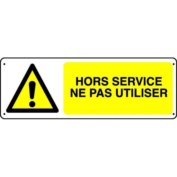 Panneau Hors Service Ne Pas Utiliser Stocksignes