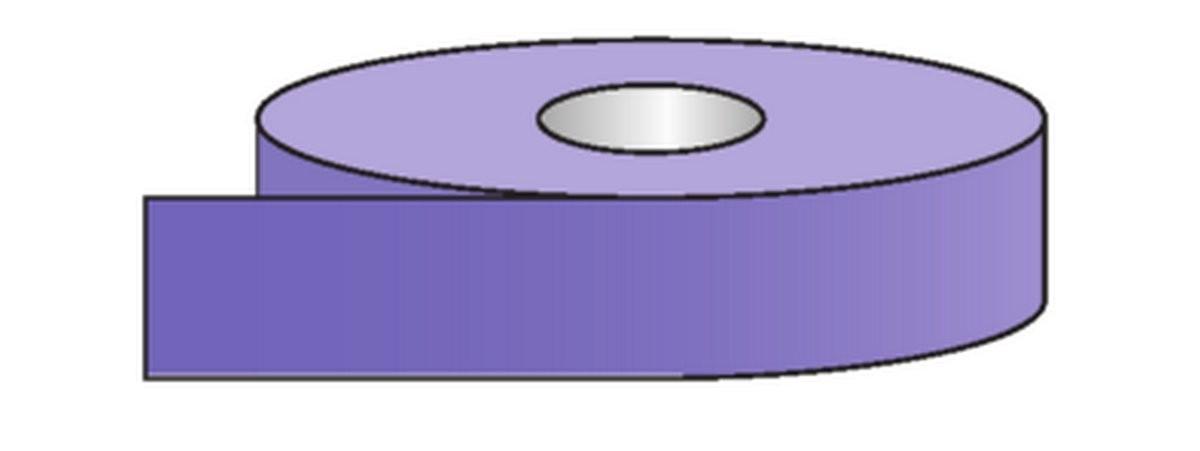 Rouleau pour tuyauteries Acides & Bases-Violet (50mm)