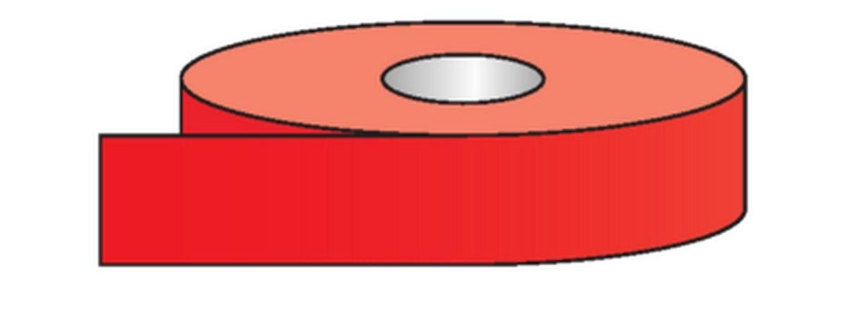 Rouleau pour tuyauteries Rouge