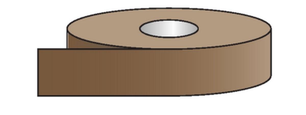 Rouleau pour tuyauteries Lubrifiants - Marron (50mm)