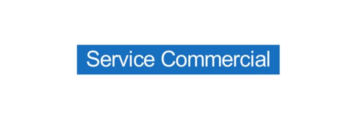 Panneau Service Commercial