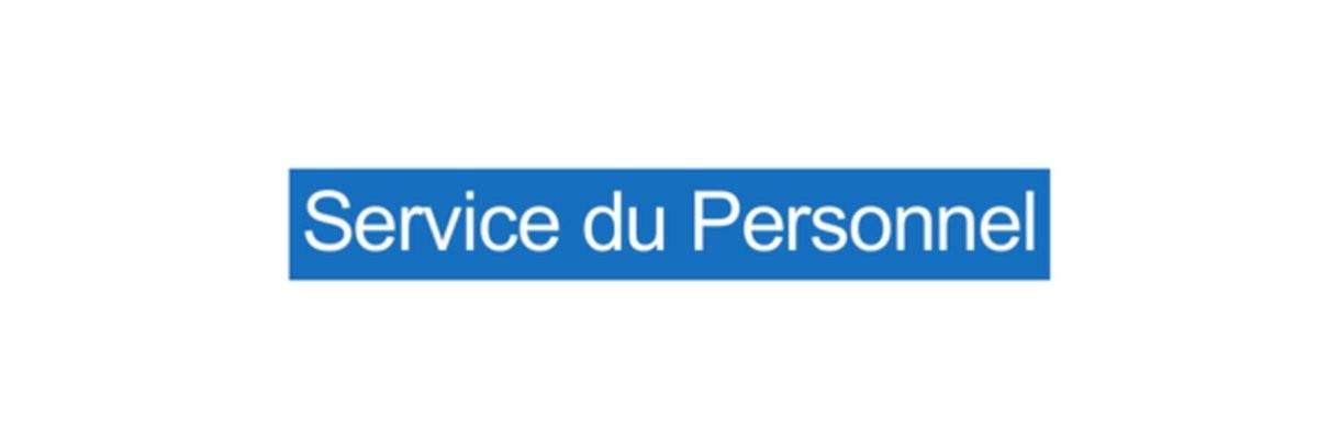Panneau Service du Personnel