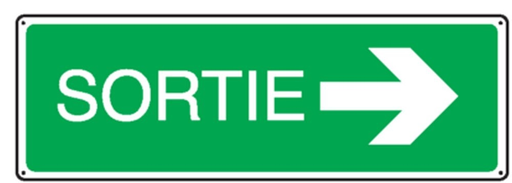 Panneau Sortie (Droite)