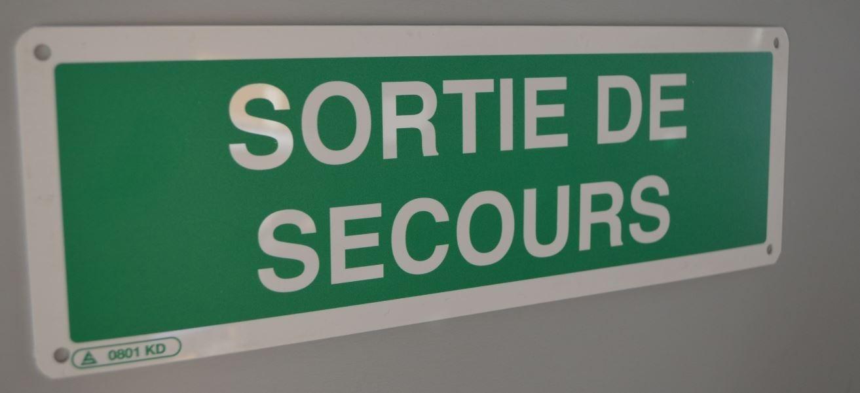 Un panneau de sécurité intérieure