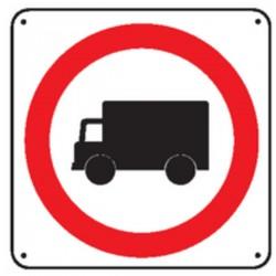 Panneau Interdit aux camions Picto