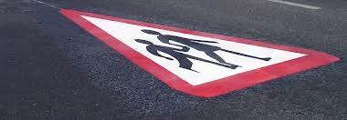 Triangle Symbole Danger thermocollant